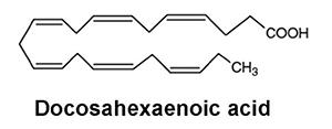 Omega-3 Molecular Structure